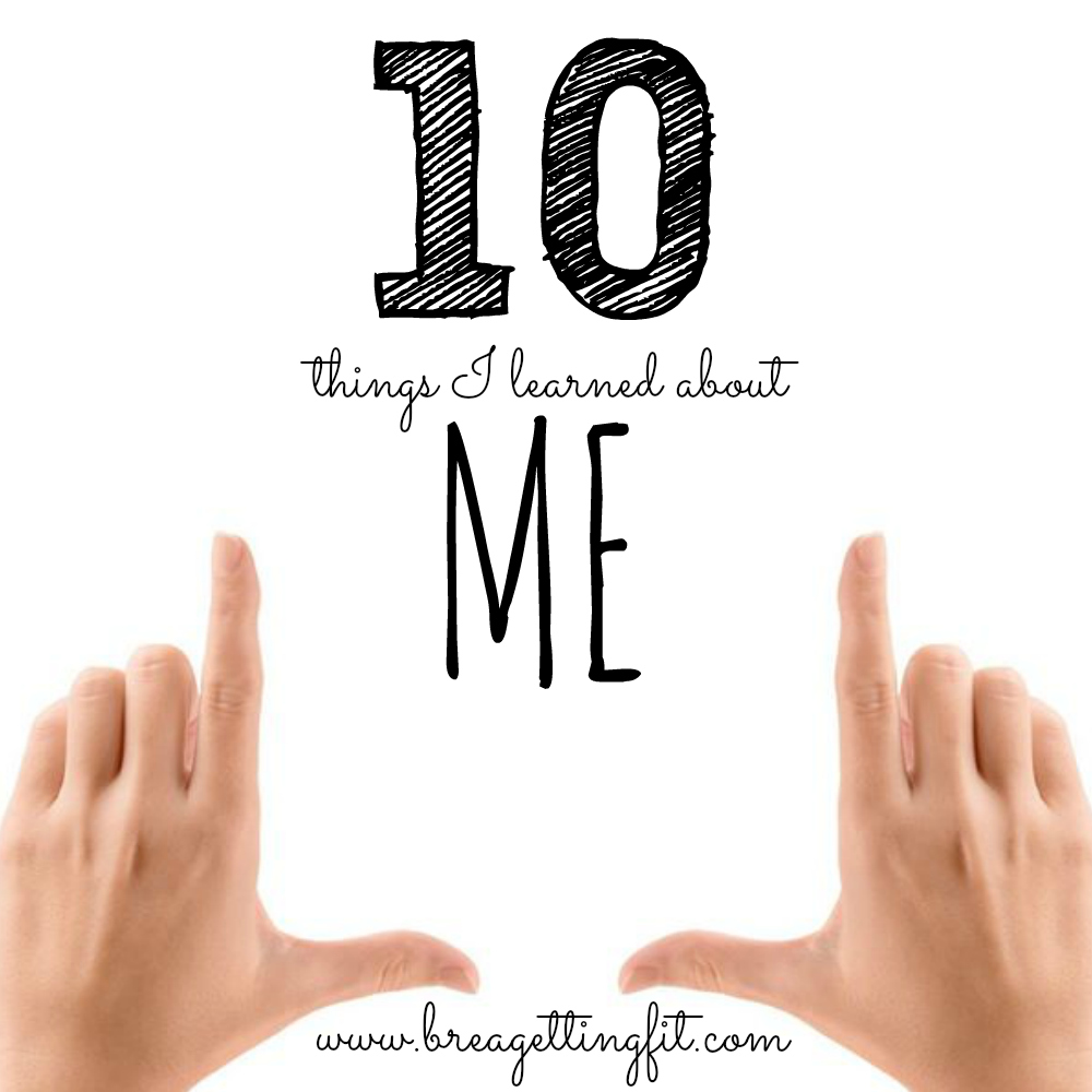 Do you ever take time to reflect? Find out the things i learned about myself when I slowed down.