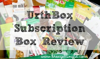UrthBox April Subscription Box Review
