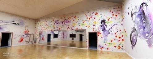 Main studio of Prince's Paisley Park recording complex.