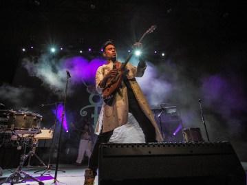 Mychael Davison performs on-stage at Paisley Park during Celebration 2018