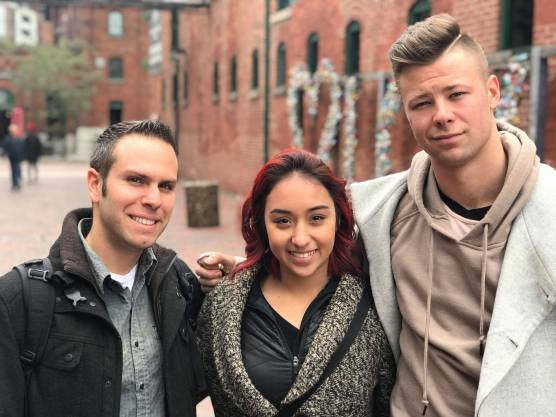 Ramsey Kouri with Luka & Jenalyn