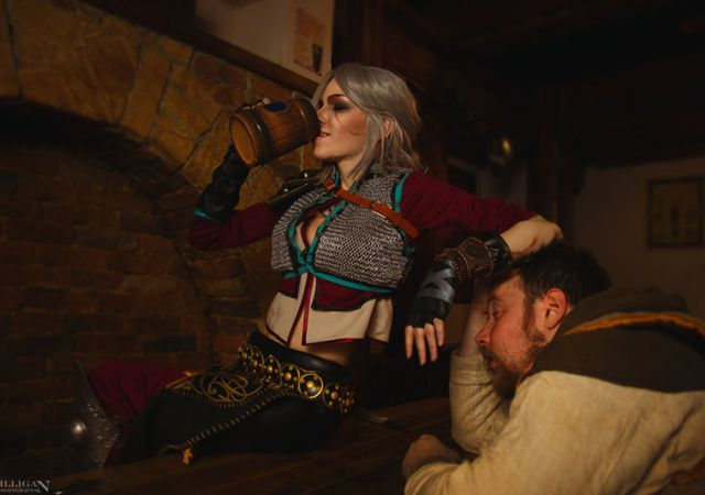 Witcher 3 Ciri Cosplay