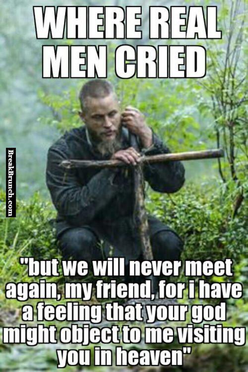 When real man cries  BreakBrunch