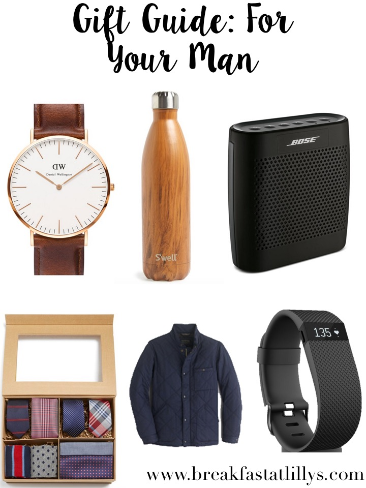 Gift Guide: For Your Man