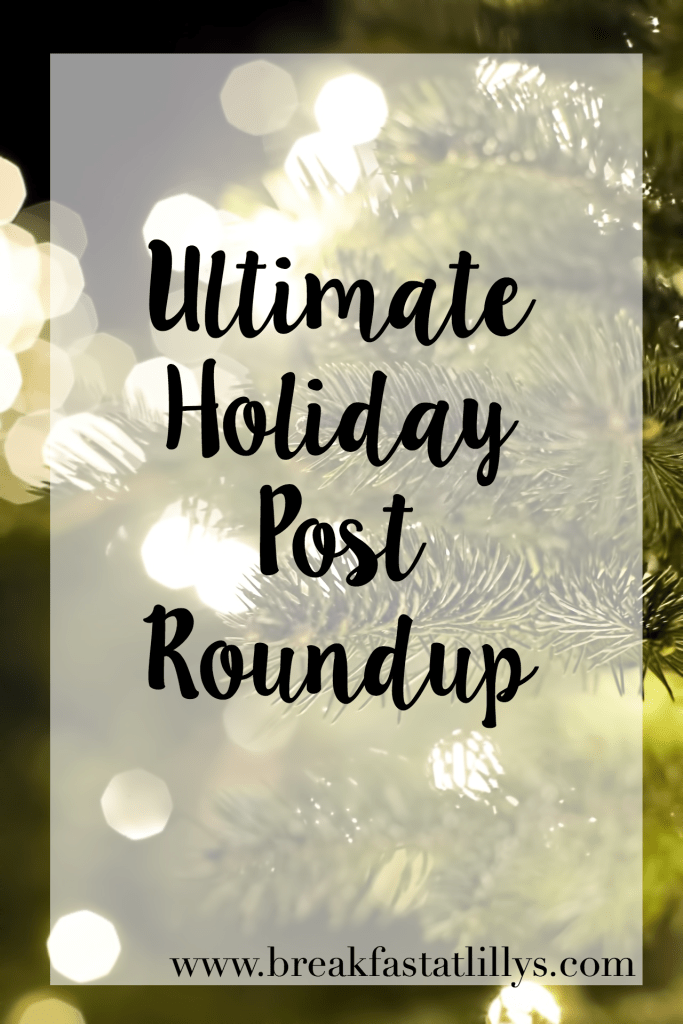 holiday post roundup