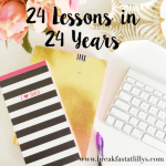 24 lessons in 24 years