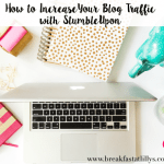 how to increase your blog traffic with stumbleupon