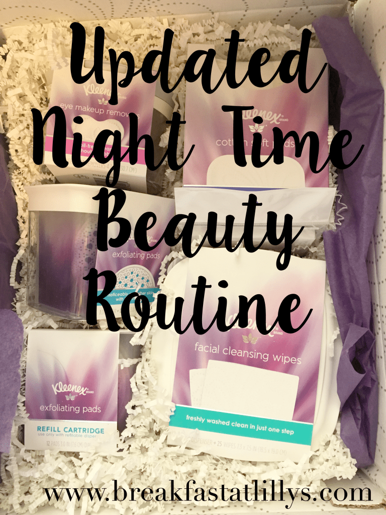 night time beauty routine