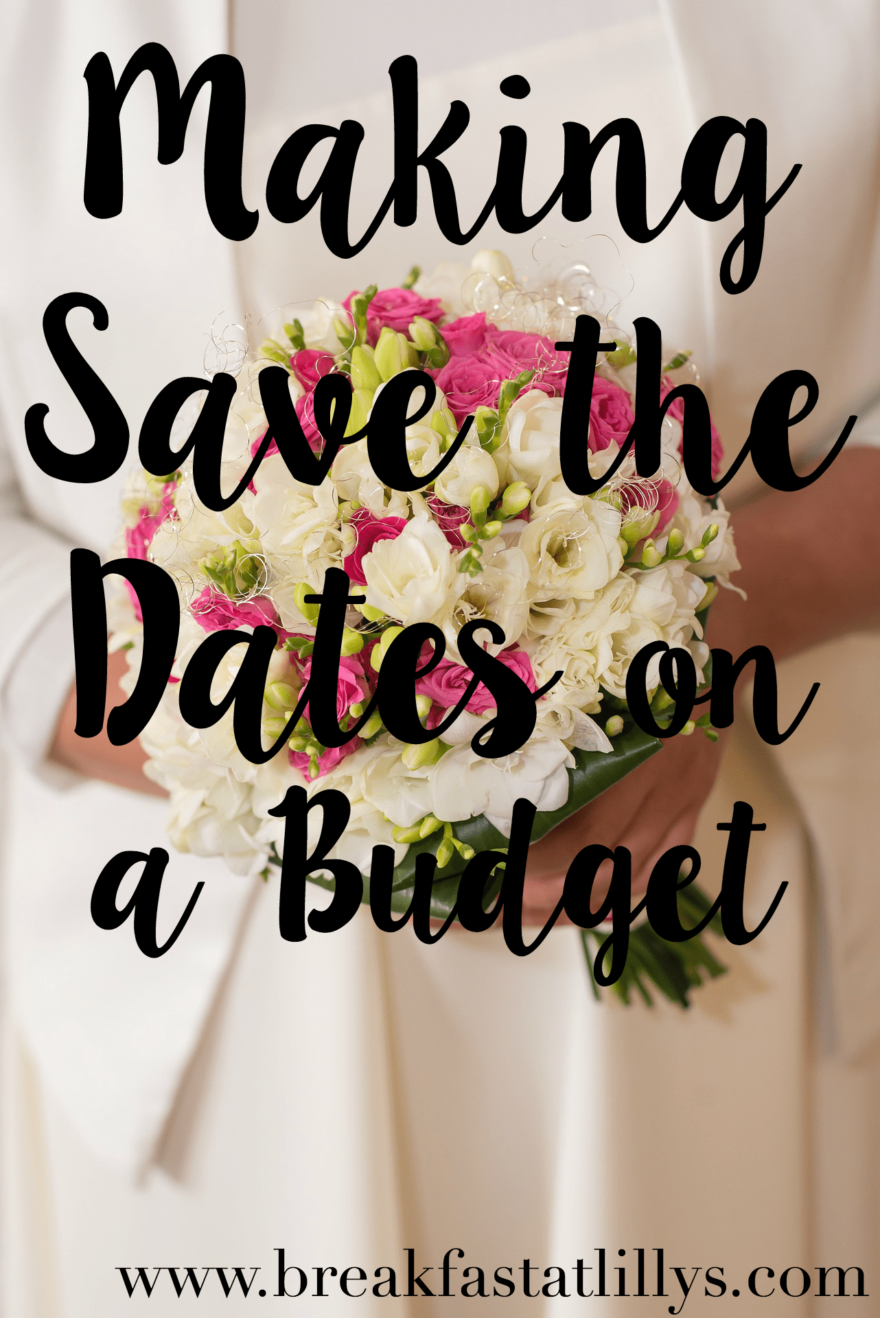 Wedding Wednesday: Save the Dates on a Budget