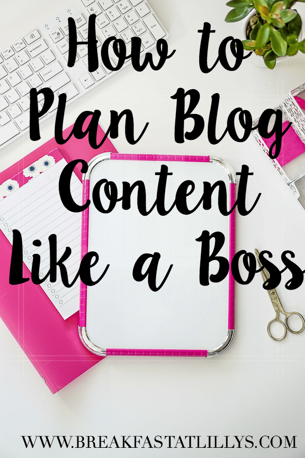 7 Tips for Planning Blog Content Like a Boss