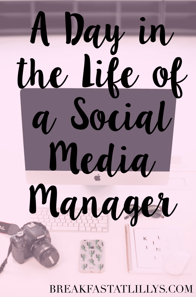 day in the life a social media manager