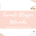 Favorite Blogger Networks