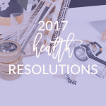 2017 health resolutions