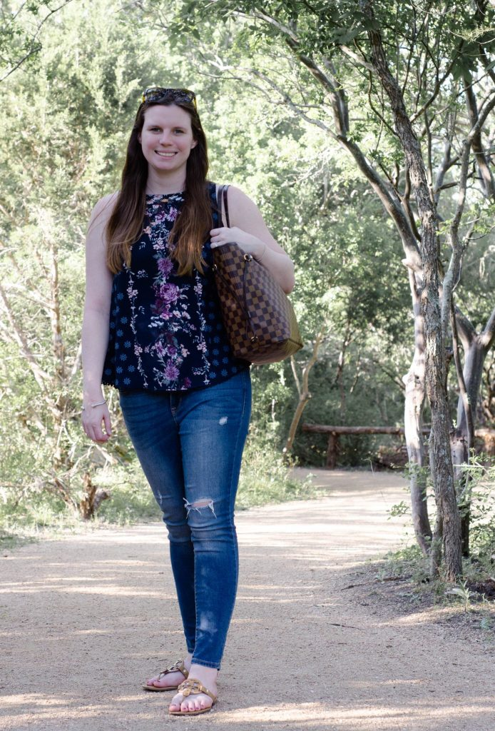 A Nature Outfit to Frolic Through the Forest by popular Houston lifestyle blogger, Breakfast at Lilly's