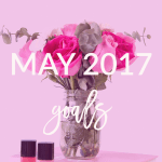 Today on Breakfast at Lilly's I'm sharing my May goals.