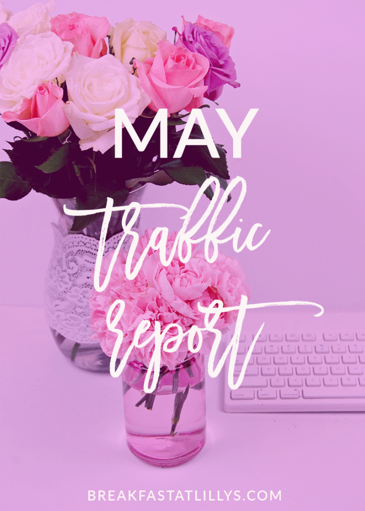 Today on Breakfast at Lilly's I'm sharing my May traffic report and what I've learned.