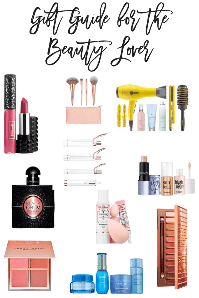 Have a beauty lover in your life? Then this gift guide for the beauty lover is for you!