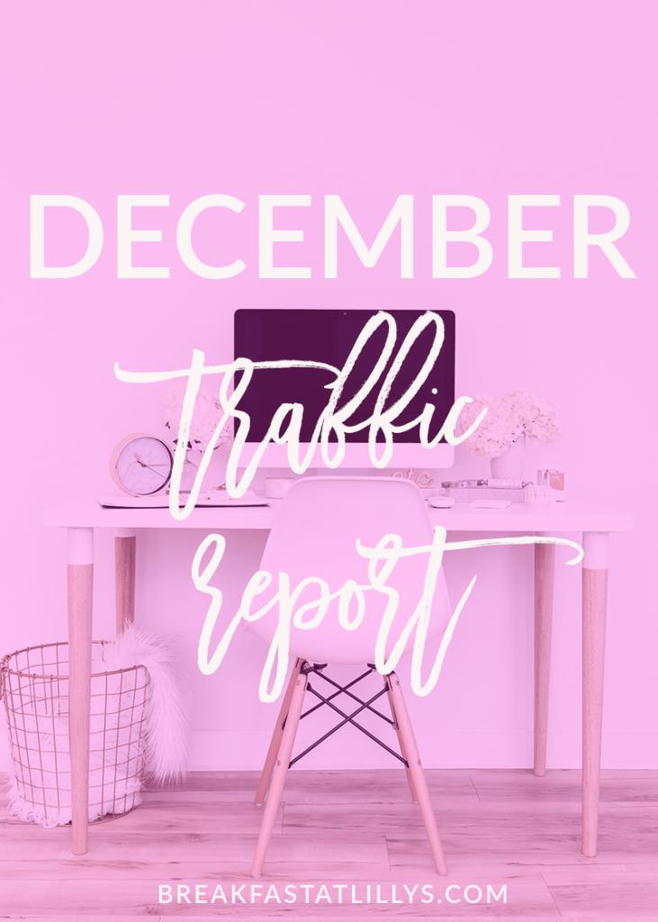 I'm sharing my December traffic report today on Breakfast at Lilly's. - December Traffic Report 2017 by popular San Antonio blogger Breakfast at Lilly's