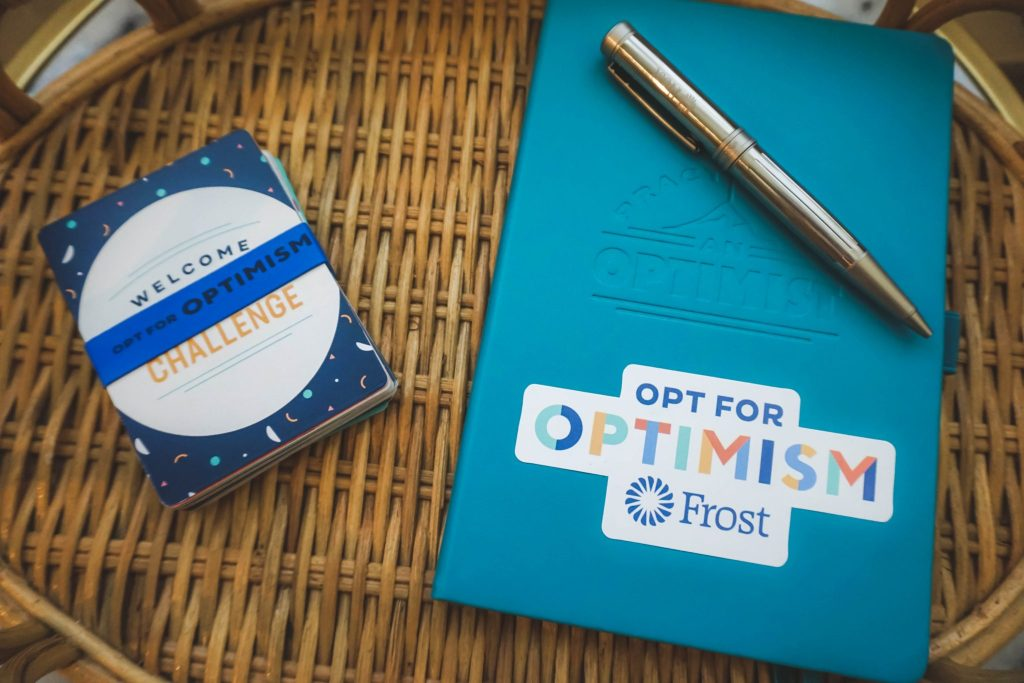 How to Improve Your Mindset + Opt For Optimism Challenge with Frost featured by popular Houston lifestyle blogger Breakfast at Lilly's