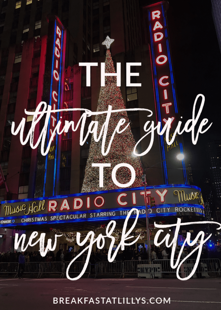New York | Holidays | The Ultimate NYC Travel Guide featured by top Houston travel blog Breakfast at Lilly's