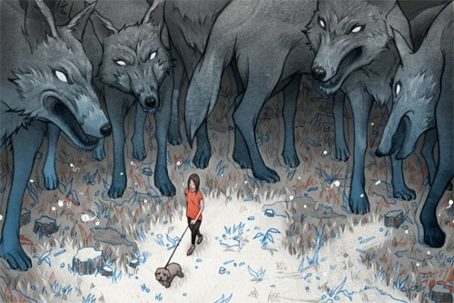Surrounded by Wolves  Breakfast With the Gods