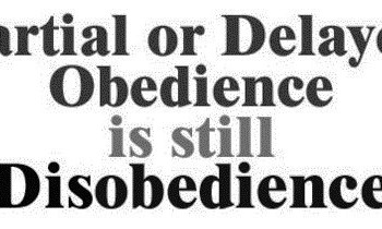 Obedience- He Speaks, You Move