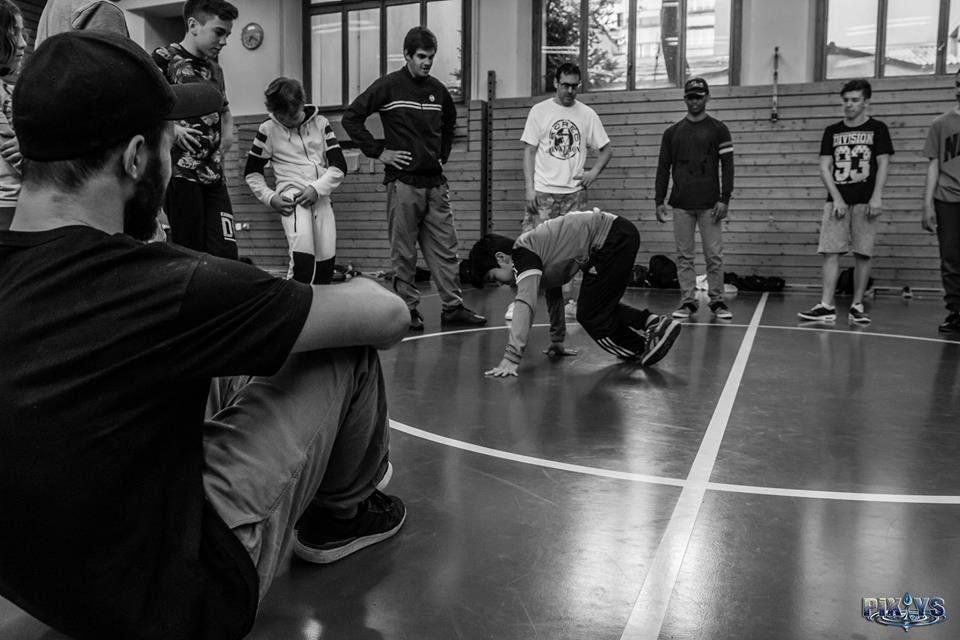 Workshop Bboy Calle