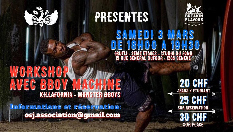 Workshop Bboy Machine