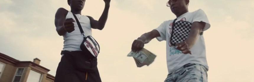 "Lil Chicken & WeUpNexxt Fresh - ""Back 2 Back"" video still"
