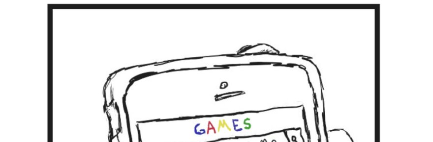 """Cover artwork for Beach Static's debut EP, """"Games""""."""