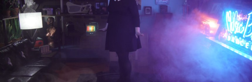 "Video still from Abby Jeanne - ""Music Box Dancer"""