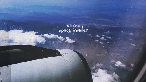 "Cover artwork for AWillThaGreat - ""Space Invader"""