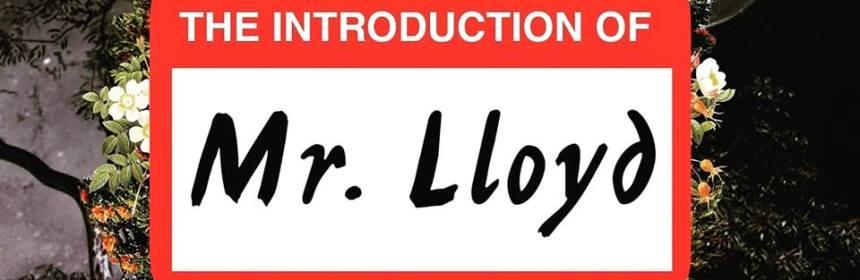 "Cover artwork for Mr.Lloyd - ""The Introduction of Mr.Lloyd"""