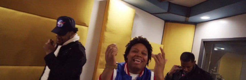 """Video still from Paperstacks Featuring Mo'City and Phif - """"Fried Chicken"""""""