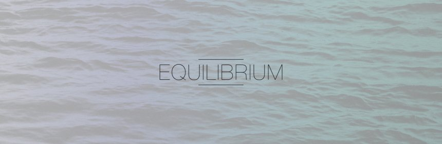 "Cover artwork for Martiln - ""Equlibrium"""
