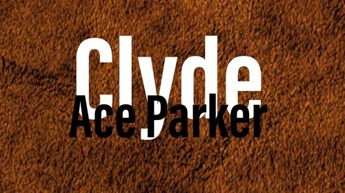 """Cover artwork for Ace Parker - """"Clyde"""""""