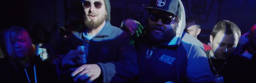 "Video still from Yogie B & Keez - ""Live It Up"""