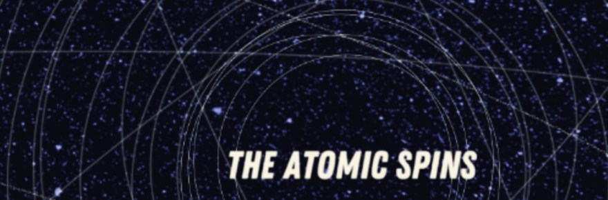 """Cover artwork for The Atomic Spins - """"Mission 2"""""""