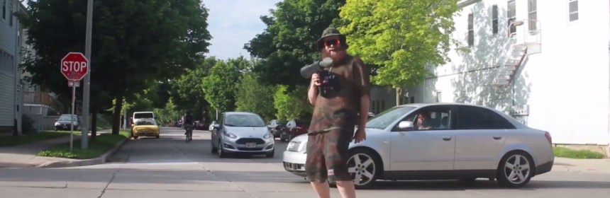 "Video still from Dad - ""Bazooka Joey (G.I. Joey)"""