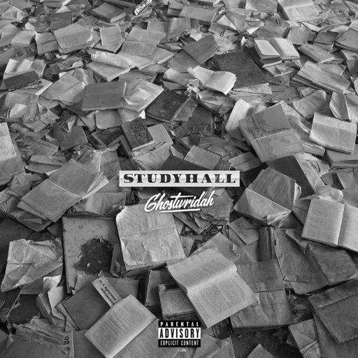 "Cover artwork for GhostWridah - ""Study Hall"""