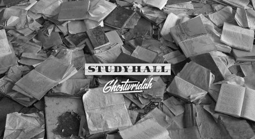 "Cover artwork for GhostWridah - ""Study Hall"""