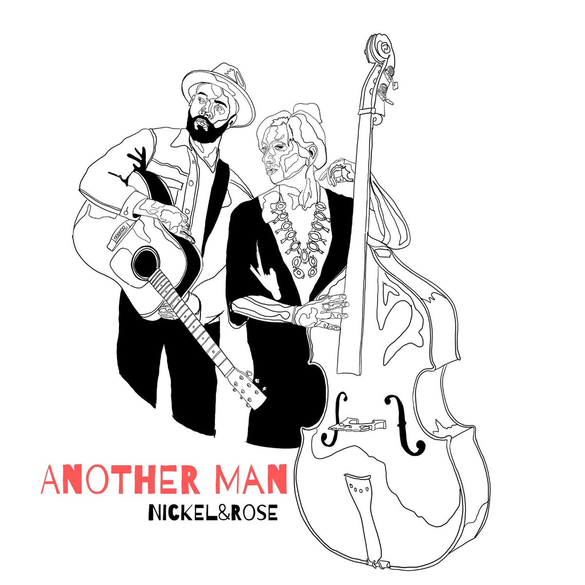 "Cover artwork for Nickel&Rose - ""Another Man"""