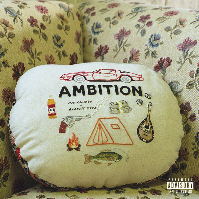"Cover artwork for Mic Kellogg Featuring Garrett Merk - ""Ambition"""