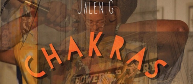 "Cover artwork for JalenG - ""Chakras"""