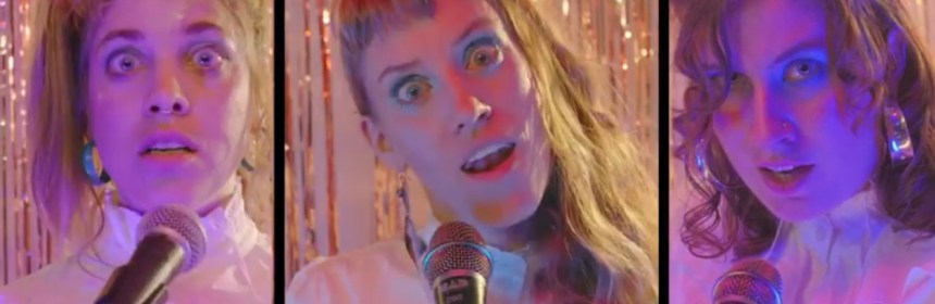 "Video still from Call Me Spinster - ""Killer On The Loose"""