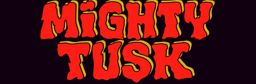 """Cover artwork for Mighty Tusk - """"Mighty Tusk"""""""