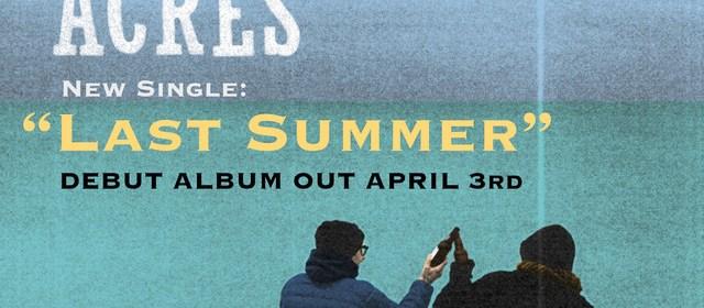 """Cover artwork for Mertles Acres - """"Last Summer"""""""