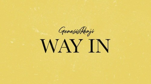 "Cover artwork for Genesis Renji - ""Way In"""
