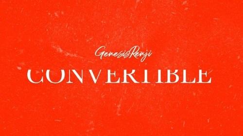 """Cover artwork for Genesis Renji - """"Convertible"""""""
