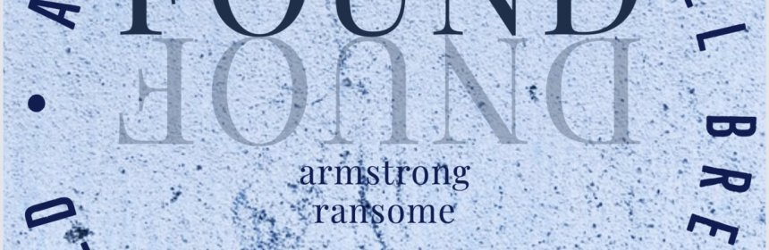 """Cover artwork for Armstrong Ransome - """"Found"""""""